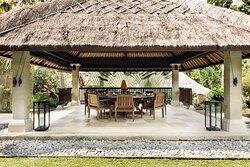 Aman Villas at Nusa Dua, Indonesia - Dining Bale