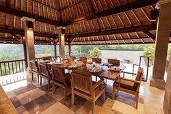 Aman Villas at Nusa Dua, Indonesia - Main Pavilion Dining Area