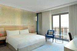 High Floor Deluxe Room with Balcony
