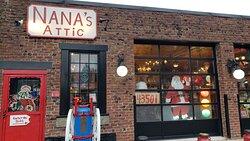 Exterior of Nana's Attic