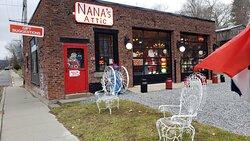 Street view of Nana's Attic