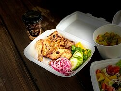 """Chicken """"Tabaka""""  Take out food from Kybynlar +37069806320"""