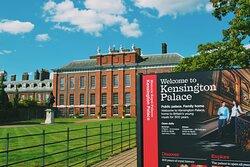 Kensington Palace Gardens is a short 10-15 minute walk away.