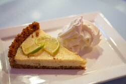 Why not Give it a try  our homemade Key Lime Pie