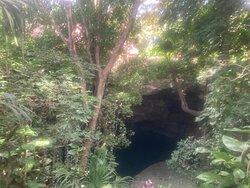 descenso cenote