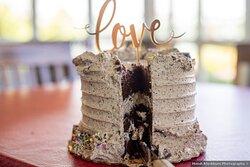 Cookies n' Cream Wedding Cake