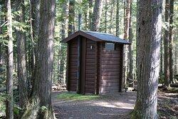 Dawson Falls - outhouse