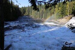 Dawson Falls - next to fall