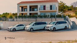 Korcula Adventures -Our Mercedes Benz  van Fleet