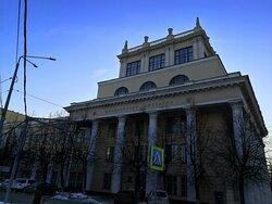 Вид с улицы Пушкина