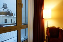 Vienna is snowing but hospitality is warm