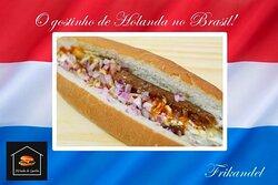 Lanche Holandês  Broodje Frikandel !!
