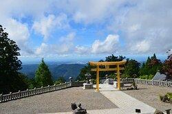 秋葉山より太平洋を望む / View of the Pacific Ocean from Mt. Akiha