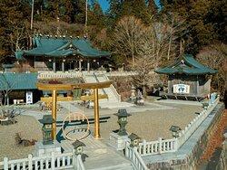 秋葉神社空撮 / Akiha Shrine aerial view
