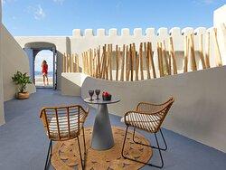Canava Suite private patio