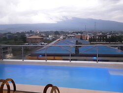 Our Penthouse takes you to another level. Enjoy the  roof-top swimming pool exclusively open to you as our Penthouse guest that gives you a mountain view of the legendary city of Buea.  Feel at home away from home