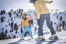 Skiing on Plan de Corones / Dolomiti Superski @MarkusKottersteger