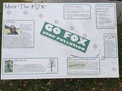 Memorial to 'The Fox'