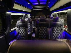 Luxury Mercedes Sprinter 14 passengers