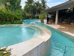 Spa hot tub view
