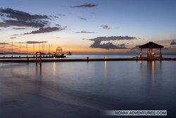 Sunset over Montego Bay.