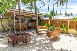 Lounge area and Bar at Legend Diving Lembongan