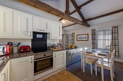 The Mews open plan kitchen/dining/living