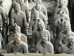 Some of the many Terracotta photos... Absolutely amazing detail showcasing all the differences of each soldier in the sea of many