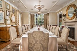 Private Dining Botanical Room at Manor House Estate Restaurant