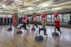 Over 200 classes per week at the Houstonian Club with no resort fee.