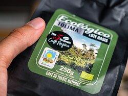Cafés certificados ECOLÓGICOS / Certified ORGANIC coffee