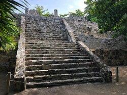 Museo Maya de Cancun, Zona Arqueologica, San Miguelito