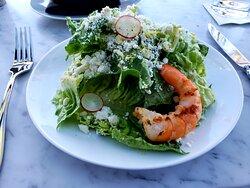 Salad w/Grilled Shrimp