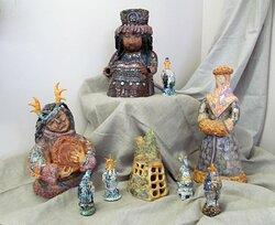 Детские работы из фонда музея