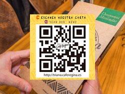 Escanea nuestra CARTA / Scan our MENU