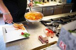 Preparazione dei nostri piatti