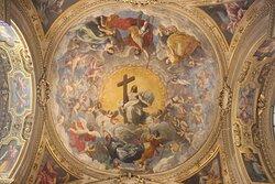Cupola della Cappella del Santissimo Sacramento