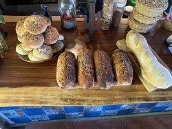 self-made Bread and Burger Bun