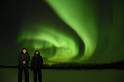 Northern lights with guests :)