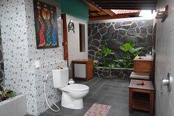 Room # 4 Outdoor shower