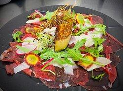 Carpaccio de canard & foie gras