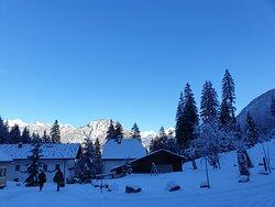Gasthof Maria Kirchental im Winter