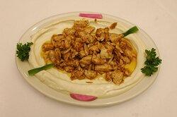 Hommous chicken