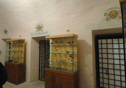 Un ambiente della cripta
