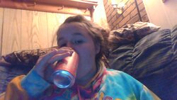 this is me when I am happy  I love to drink pop I am so happy can people plz add me