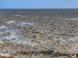 Штормовое Азовское море.