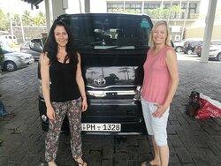 tour with Sandra + Sandra from Germany