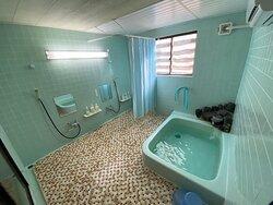 Shared bath room and shower room (split by gender)