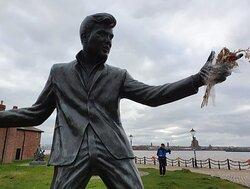Billy Fury Statue