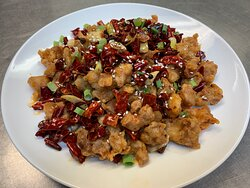 Spicy Chicken with Chili Pepper